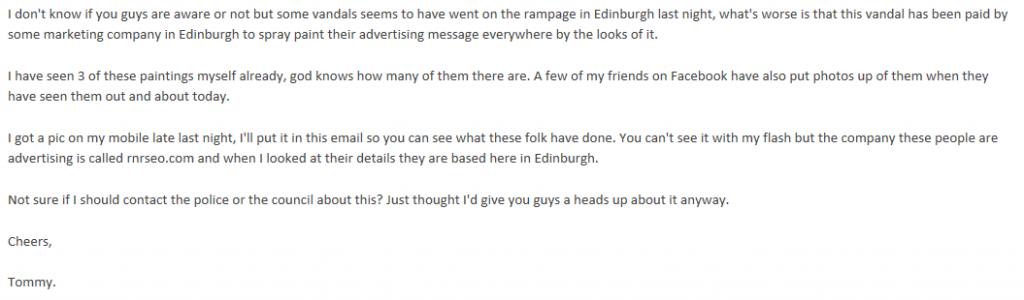reverse graffiti email 1