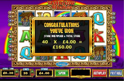 Profit Accumulator Rainbow Riches
