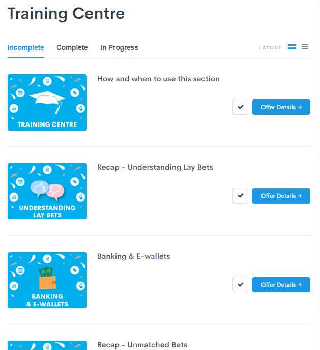 Profit Accumulator training centre